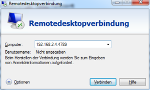 Remotedesktop-Client unter Windows 7